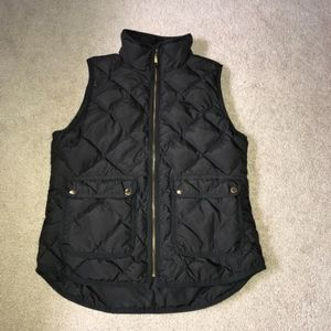 LIKE NEW JCrew Quilted Vest